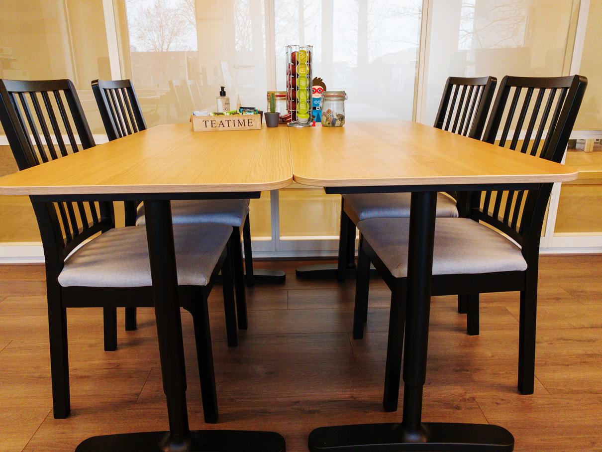 DevOps Rebels Office Table